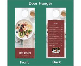 HM Hotel Door Hanger
