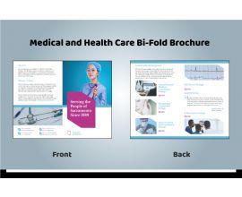 Bi-fold Medical Brochure