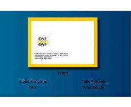 Onezeroone Envelope Template