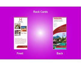 Hotel Rack Card - 4 (3.5x8.5)