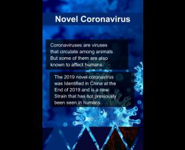 Corona Informative Poster