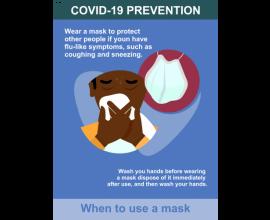Covid Prevention Poster