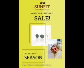 Sunfit Sale Poster - 35 (24x36)