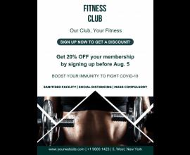 Fitness Club Poster - 47 (18x24)