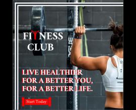Fitness Club (1080X1080)