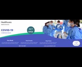 Healthcare Covid-19 Service (1500x500)