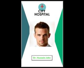 Hospital I'd Card