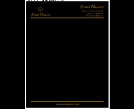 Event Planner Letterhead
