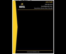 Jk Hotel Letterhead
