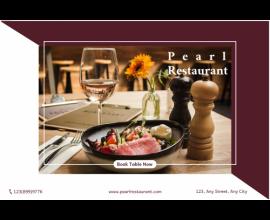 Pearl  Restaurant Banner
