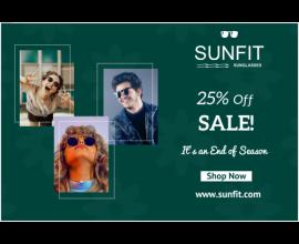 Sunfit Sale Banner