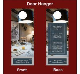 Apartments Door Hanger