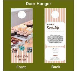 Mini's Cake World Door Hanger