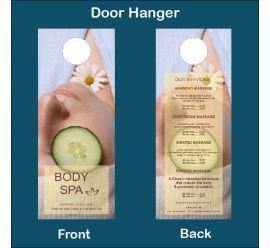 Body Spa Door Hanger