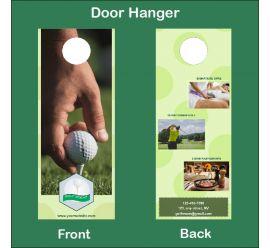 Golf Resort Door Hanger