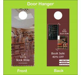 Tom's Book Store Door Hanger