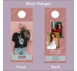 Fashion Factory Door Hanger