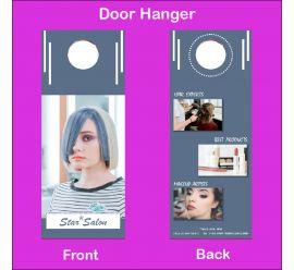 Star Salon Door Hanger