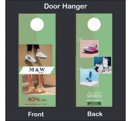 M & W Shoes Door Hanger