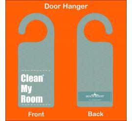 Clean My Room Resort Door Hanger