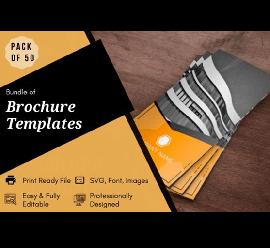 50 Brochure Design Templates Bundle