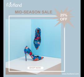Foot Land Mid Season Sale (1080x1080)