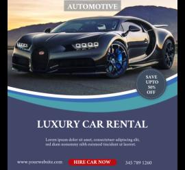 Automotive Car Rental (1080x1080)