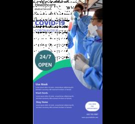 Healthcare Covid-19 Service (1080x1920)