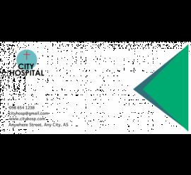 City Hospital Envelope