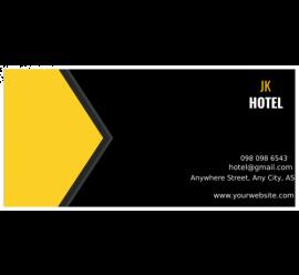 Jk Hotel Envelope
