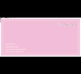 Child Care Envelope
