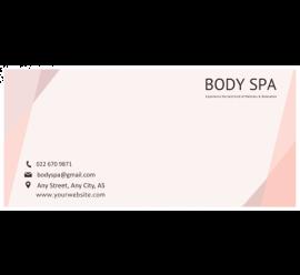 Spa Envelope