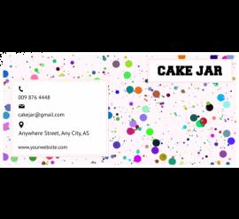 Cake Jar Envelope