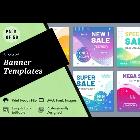 50 Banner Graphic Design Templates Bundle