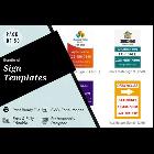 50 Signs Graphic Design Templates Bundle