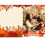 Fall Theme Thanksgiving Card