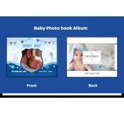Baby Milestone Photo Album