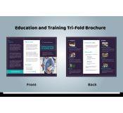 Trifold School Brochure