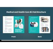 Half-fold Medical Services Brochure