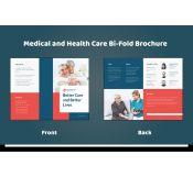 Half-fold Healthcare Brochure