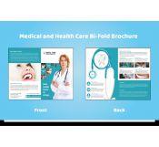 Half-fold Dental Care Brochure