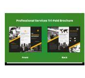 Tri-fold Professional Services Brochure