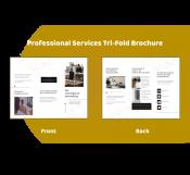 Custom Professional Services Brochure