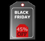 Black Friday Discount Hang Tag