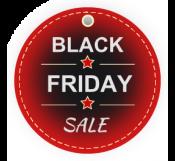 Black Friday Sale Hangtag