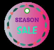 Season Sale Tag Template