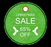 Sale Tag  For Christmas