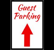 Guest Parking Signage