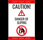 Danger Of Slipping Sign