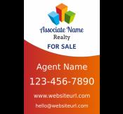 Real Estate Agent Sign